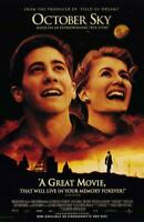 October Sky Movie POSTER 11 x 17 Jake Gyllenhaal, Chris Cooper, A