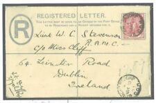 W380 1902 BOER WAR COGH Yorks Regt Registered Cover RAMC Officer Ireland MEDICAL