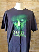 Coheed And Cambria- Green Head Rare Lic OOP- Black T-Shirt New