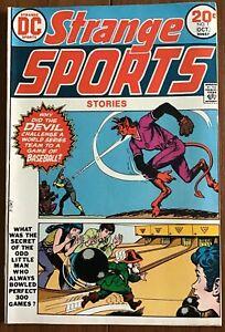 DC Comics Strange Sports Stories #1 Oct. 1973 Nice Reading Copy Starts at $4.95!