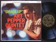 ART PEPPER Quintet Smack Up LP CONTEMPORARY RECORDS S7602 US 1962 DG ST Clean