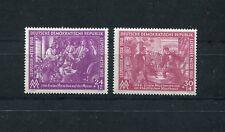 GERMANY DDR DEMOCRATIC REPUBLIC 1950 SCOTT B15-B16 LEIPZIG FAIR PERFECT MNH