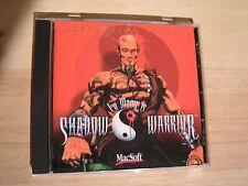 MacSoft Shadow Warrior CD Game Action Adventure Complete Power Macintosh FPS NEW