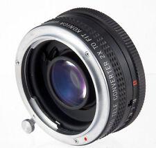 Soligor MC Auto Tele converter 2X lens fit Konica film camera Mount FS-1 TC T FT