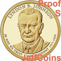 2015 P Lyndon B Johnson Presidential Dollar Position B in Mint Set Wrapper