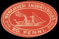 ✔️ FINLAND 1867 - STEAMSHIP STAMP 20 PENNI - #2 ** MNH OG [CRD6]