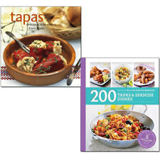 Tapas Delicious Little Dishes from Spain, 200 Tapas & Spanish Dishes 2 Books Set