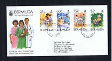 Bermuda 1994 100th Anniversary Of Hospital Care - First Day Cover-Used-Addressed