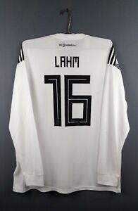 Philipp Lahm Germany jersey 2XL 2019 long sleeve shirt BR7830 Adidas ig93