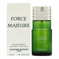 FORCE MAJEURE by Jacques Bogart 3.33 oz EDT spray Men's Cologne 100 ml 3.4 NIB