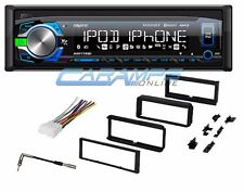 NEW AXXERA CAR STEREO RADIO WITH BLUETOOTH & DASH INSTALL KIT & WIRING