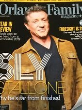 SYLVESTER STALLONE Orlando Family magazine January 2020