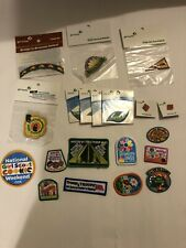 Girl Scout Lot Of 20 Assorted Patches and Pins
