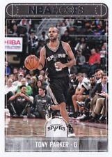 2017-18 NBA Hoops - Tony Parker #196 - San Antonio Spurs