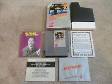 Metroid (Nintendo NES) Complete CIB w Poster