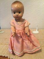 "Vintage 7.5"" Sweet Antique Composition Doll"