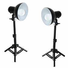 Set de Studio DynaSun Kit 2x PS01 LED 300W Soporte de Luz, Reflector Lámpara LED