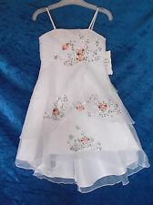 Prelest - Mädchenkleid mit Bolero - creme/rose - Gr. 104