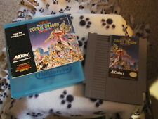 Double Dragon II: The Revenge (NES, 1990) w/case and dirrections book - rare