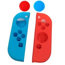 4 in 1 Silicone Protective Case Cover Skin for Nintendo Switch Joy-Con With Grip
