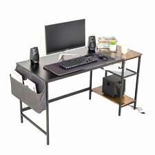 More details for office desk study gaming desk laptop pc computer desk table home workstation uk
