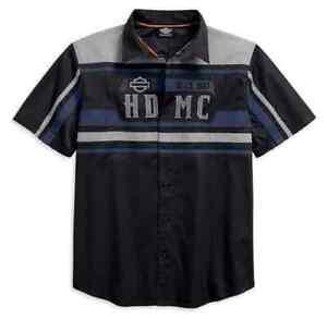 Harley Davidson Performance Vented Colorblock S/S Shirt