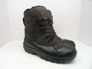 Timberland Men's Rime Ridge 400G Cold Weather Boots A1KG1 Brown/Black Size 12M