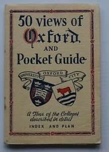 50 views of Oxford and Pocket Guide, tour of Colleges, index & plan, inc. photos