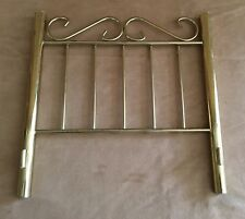 "Samantha 12"" headboard Brass Bed Replacement part gold American Girl Doll spot"