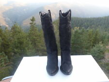 Roper Western Boots Womens Black Size 7 1/2