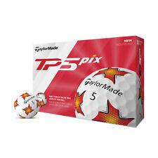New 2019 TaylorMade Tour Preferred  TP5 piX Golf Balls (1 Dozen)