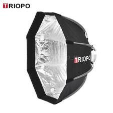 TRIOPO 55cm Studio Octagon Softbox Umbrella Flash Speedlite Speedlight Reflector
