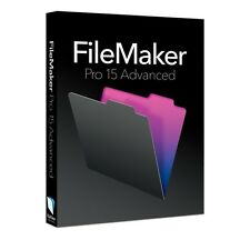 FileMaker Pro 15 Advanced - Full Program - Windows