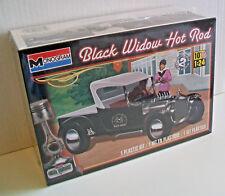 REVELL MONOGRAM 1:24 85-4324 BLACK WIDOW HOT ROD Plastic Kit 55 Parts - Level 2