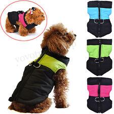 petit moyen Manteau pour chien Veste imperméable hiver chaud matelassé Gilet GB