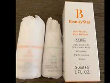 BEAUTYSTAT Universal C Skin Refiner 1oz. +.33oz. + Universal Moisture Essence .5