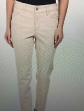 NWT NYDJ Not Your Daughters Jeans CLAY CREAM BEIGE LEGGINGS 5-Pocket Size 10P