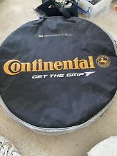 Continental Wheel Bag - Double Padded With Handles And Shoulder Strap.