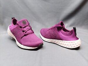 New Balance Cruz Athletic Sneakers Purple White Grade-School Girls Size 7 NEW!