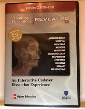 Anatomy & Physiology Revealed 2.0 CD-ROM Interactive Cadaver Dissection Medical