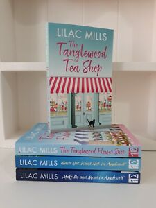 Collection of 4 x Paperback Books Modern Romance Lilac Mills  The Tanglewood NEW