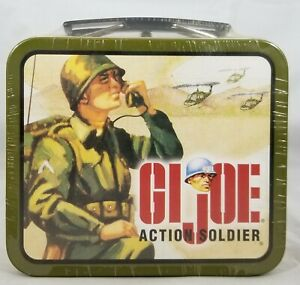 GI Joe Action Soldier Mini Metal Lunchbox 2000 Specialty Authentic Collectible