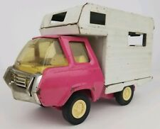 Vintage Tonka Pressed Steel RV Camper Truck Toy Pink Cab Parts & Repair
