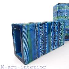 "beautiful Keramik Vase ""Rimini Blue"" Pottery Bitossi Italy 1960er 1970er vintage"