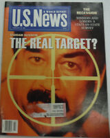 U.S. News Magazine Saddam Hussein February 1991 012215R