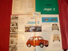 N°4440  / NECKAR  dépliant type JAGST 2   / FIAT 500      1966 ?