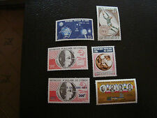 CONGO (brazzaville) - timbre - yt aerien n°176 179 191 192 194 195 n** (A7)stamp