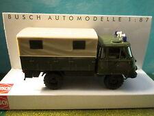 Busch (1:87 ) Robur LO 2002 A Military Police Truck #50209