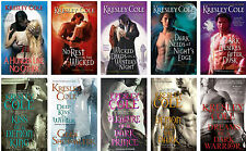 Immortals After Dark Series 1-10 Paperback Collection Set Kresley Cole New!