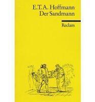 Good, Der Sandmann, E T A Hoffmann, Book